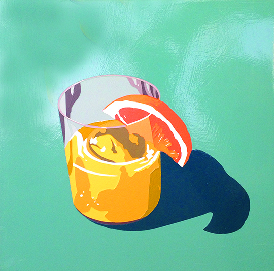 Bourbon Cocktail (blushing betty)