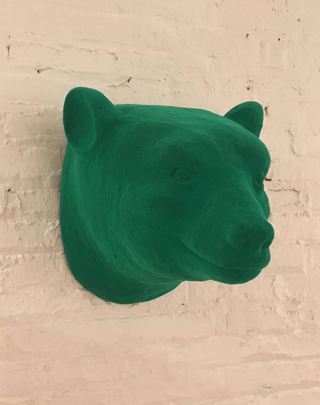 Bear Head - Green