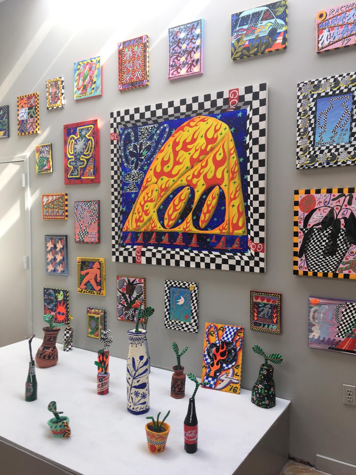 Rachel Hayden (installation view)