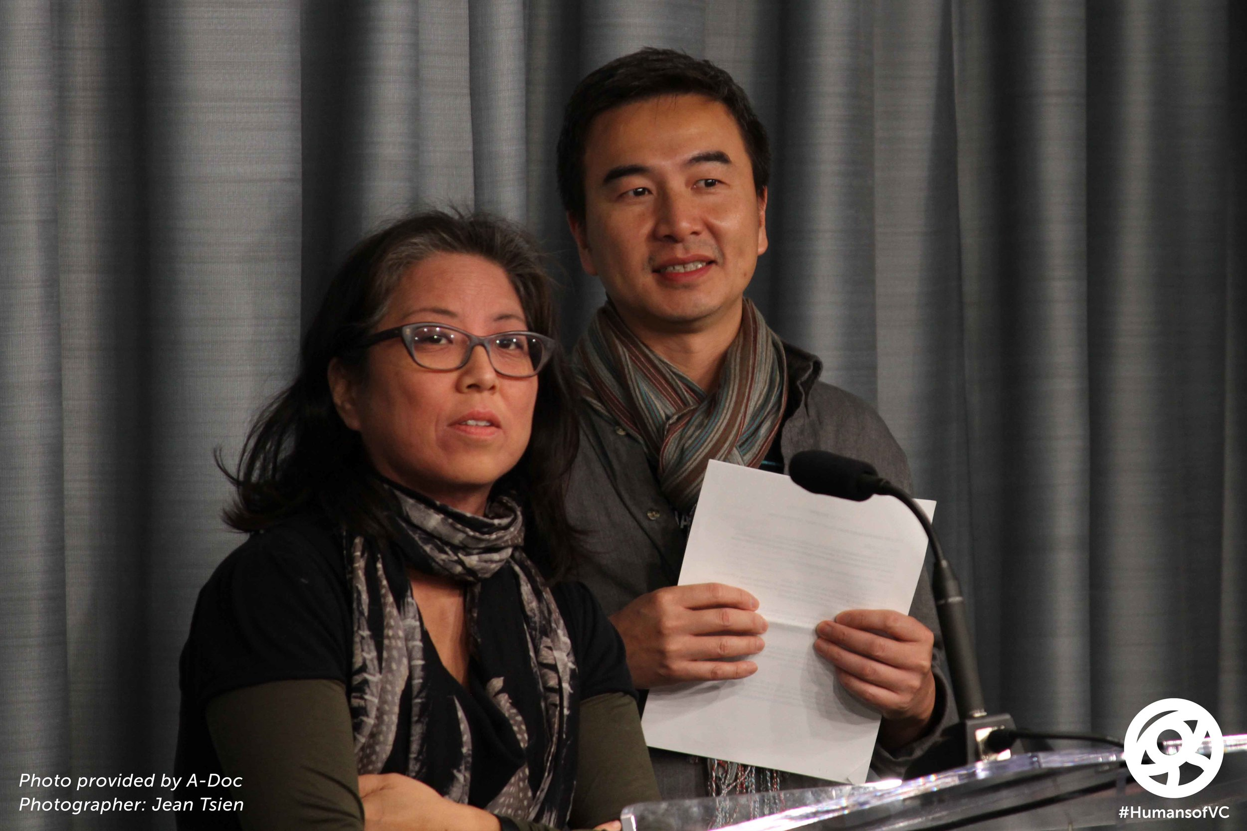 Grace Lee & S. Leo Chiang, Filmmakers/Leaders of A-Doc