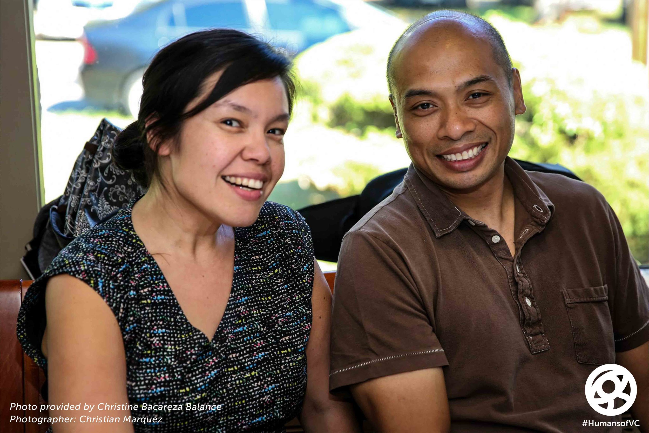 Christine Balance (UCI Professor) & Gary Gabisan (VC Staff/Filmmaker)