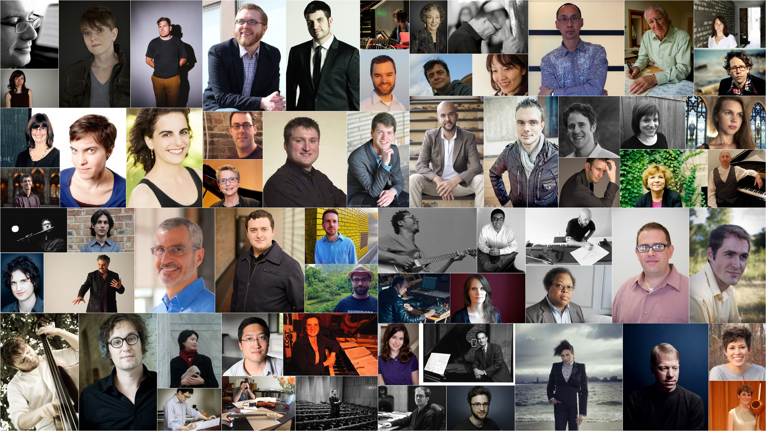 88 Composers    Meet the Artists