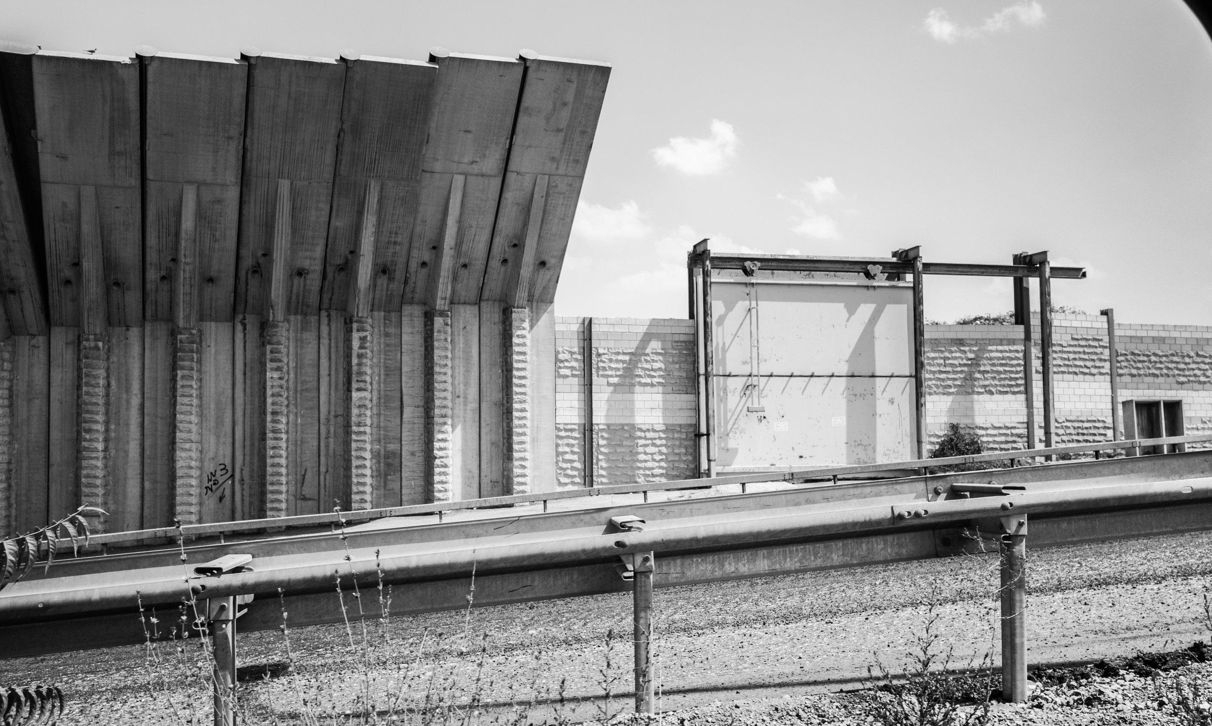 The Border Wall, Bethlehem, 2017