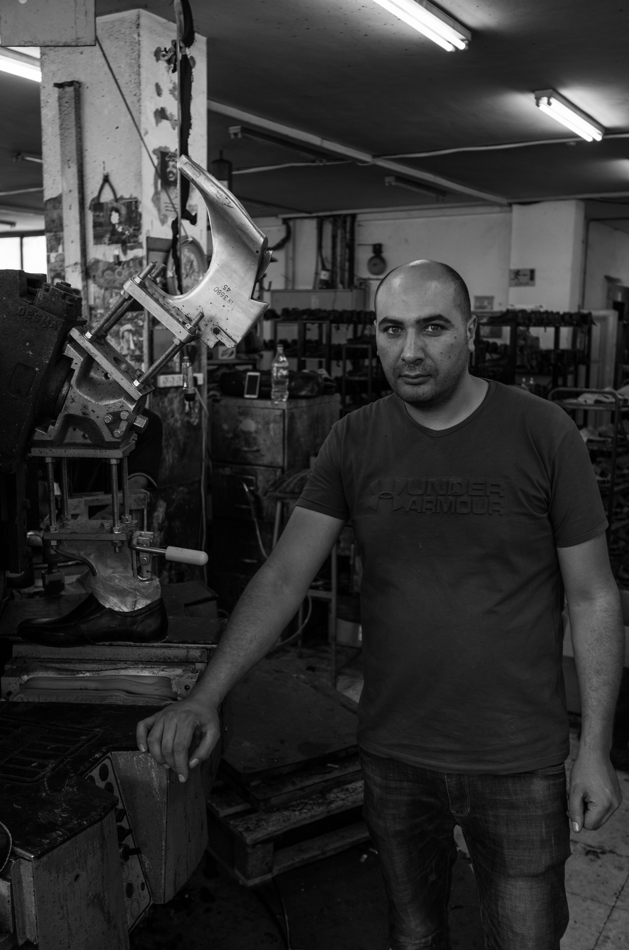 Owner of a factory, Hebron, 2017