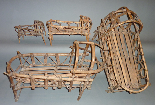 Antique Peruvian Baby Bed from Cusco.jpg