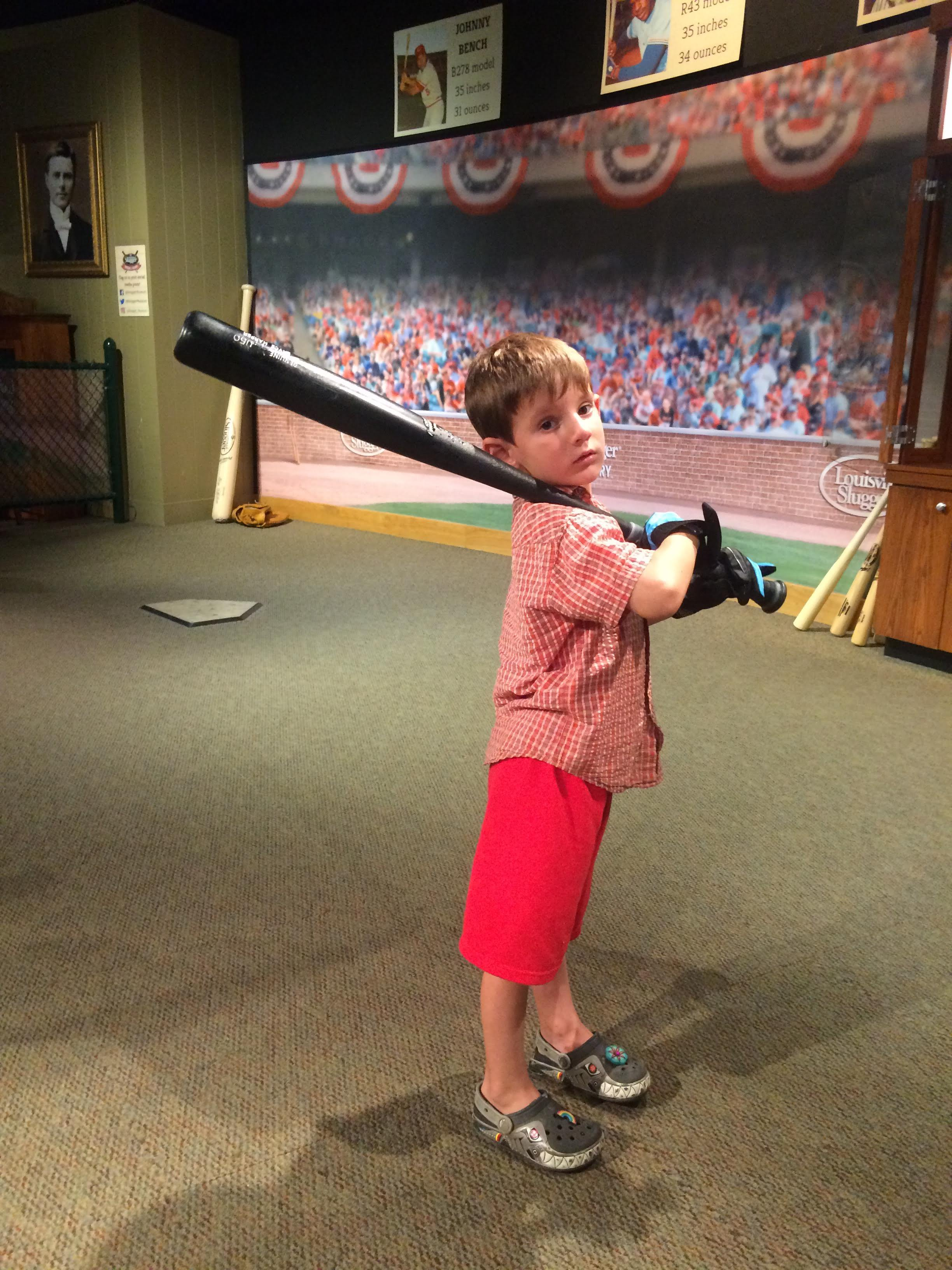 Then off to Louisville, Kentucky to the Slugger factory and tour.