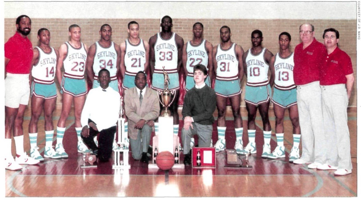 Larry Johnson and the Dallas Skyline High School Basketball Team