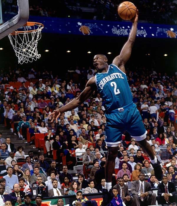 Larry Johnson Charlotte dunk