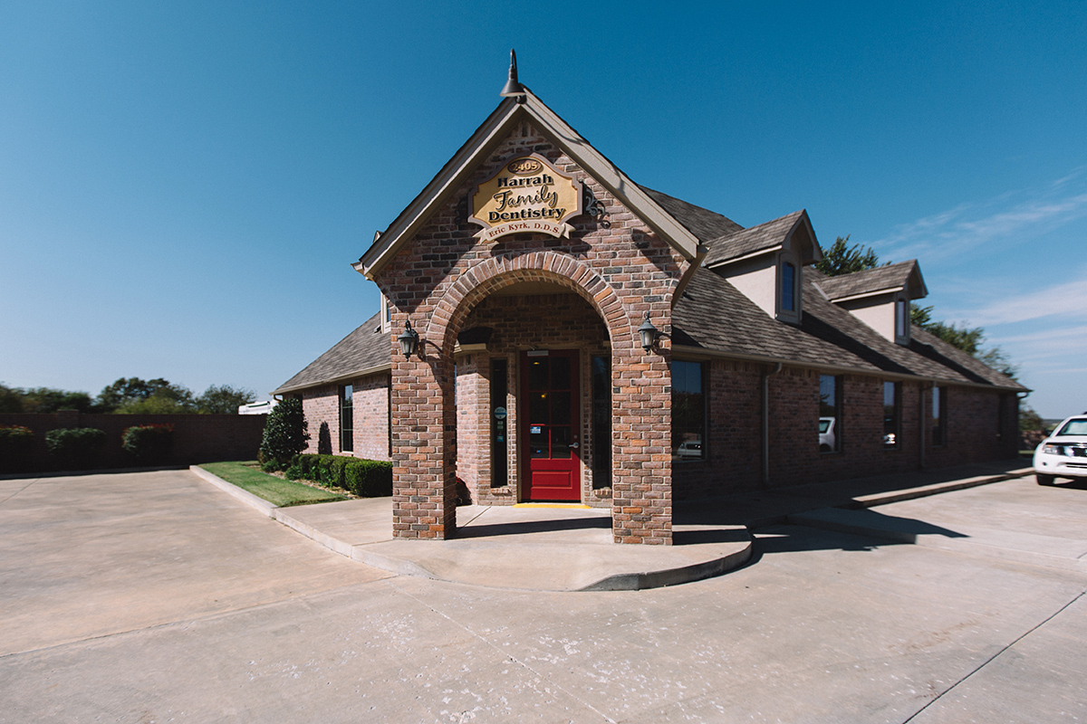 Harrah Family Dentistry office
