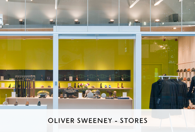 Mowat and Company Design of Flagship Store for Oliver Sweeney