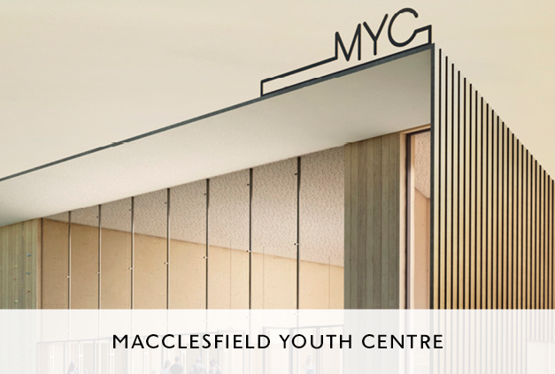 Youth Centre Design by Mowat and Company in Macclesfield
