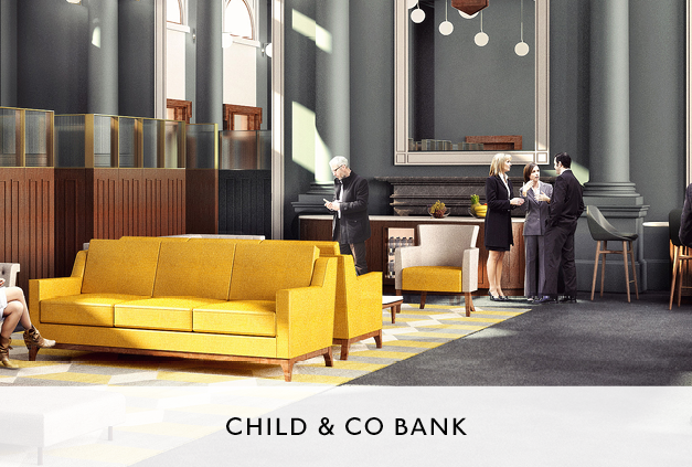 Interior Fit Out for Child and Co Bank by Mowat and Co Architects