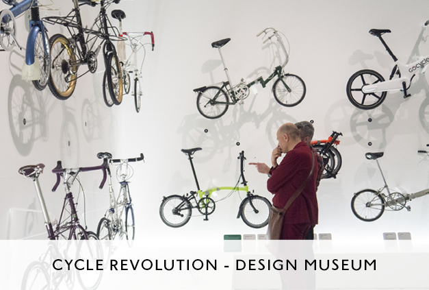 Mowat and Co Design Cycle Revolution Exhibition at the Design Museum