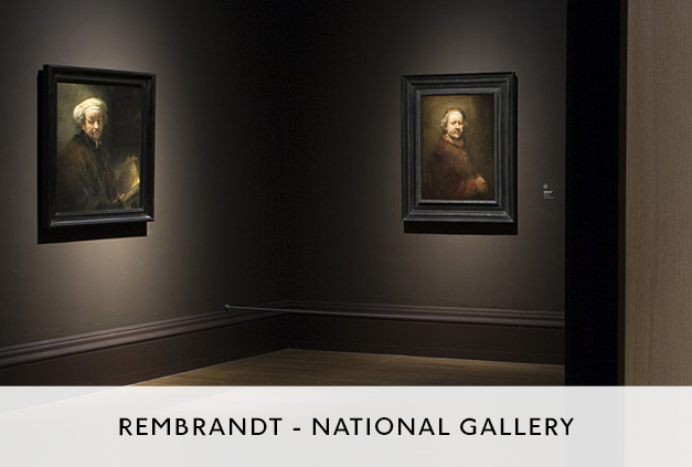 Rembrandt Exhibition at the National Gallery by Mowat and Company