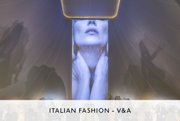 Mowat and Co Design Italian Fashion Exhibition at the V&A