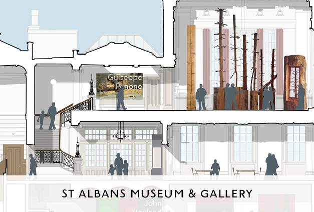 St Albans Museum and Gallery Exhibition Designed by Mowat and Co