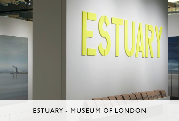 Design for Estuary Exhibition at Museum of London by Mowat and Co