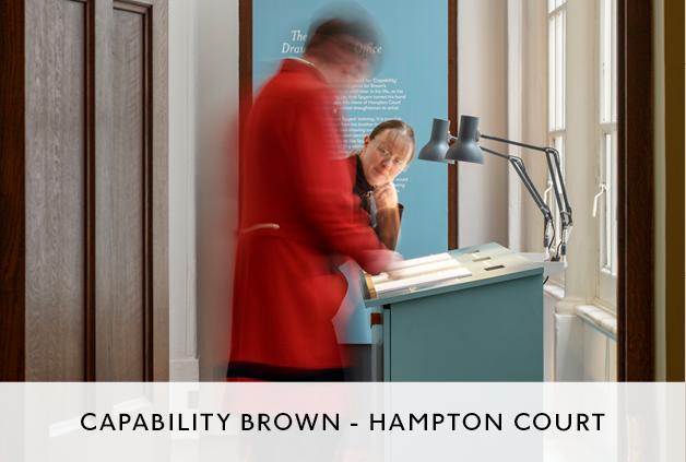 Mowat and Company Design Capability Brown Exhibition Hampton Court