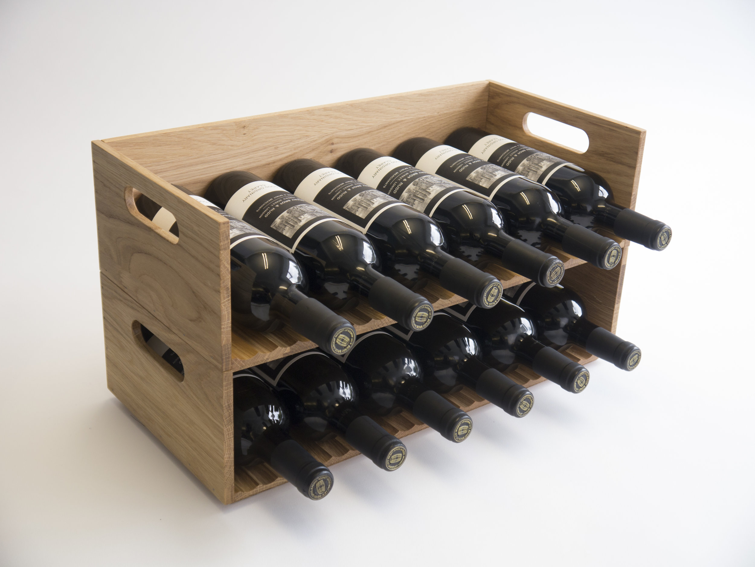 Wooden Wine Racks Designed by Mowat and Company Architects