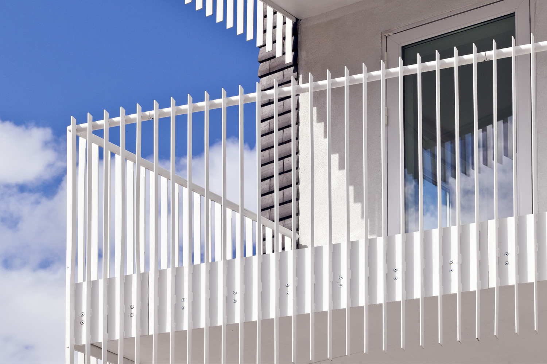 Balustrade Detail of Housing Development for Igloo Regeneration and Hexagon Housing in Bermondsey