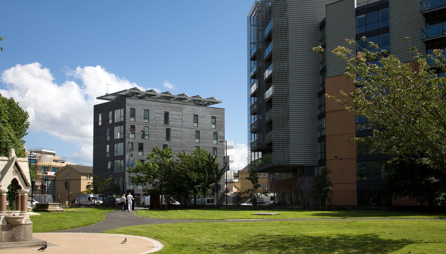 Photograph of Housing Development for Igloo Regeneration and Hexagon Housing in Bermondsey