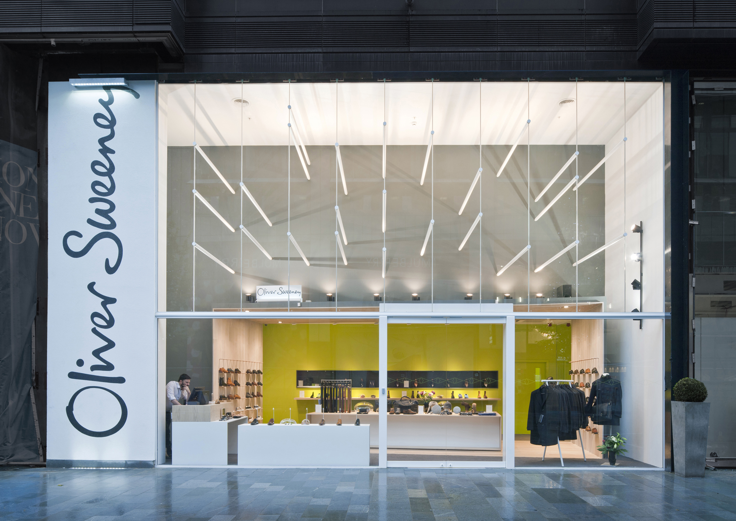 Photograph of Oliver Sweeney Flagship Store Manchester