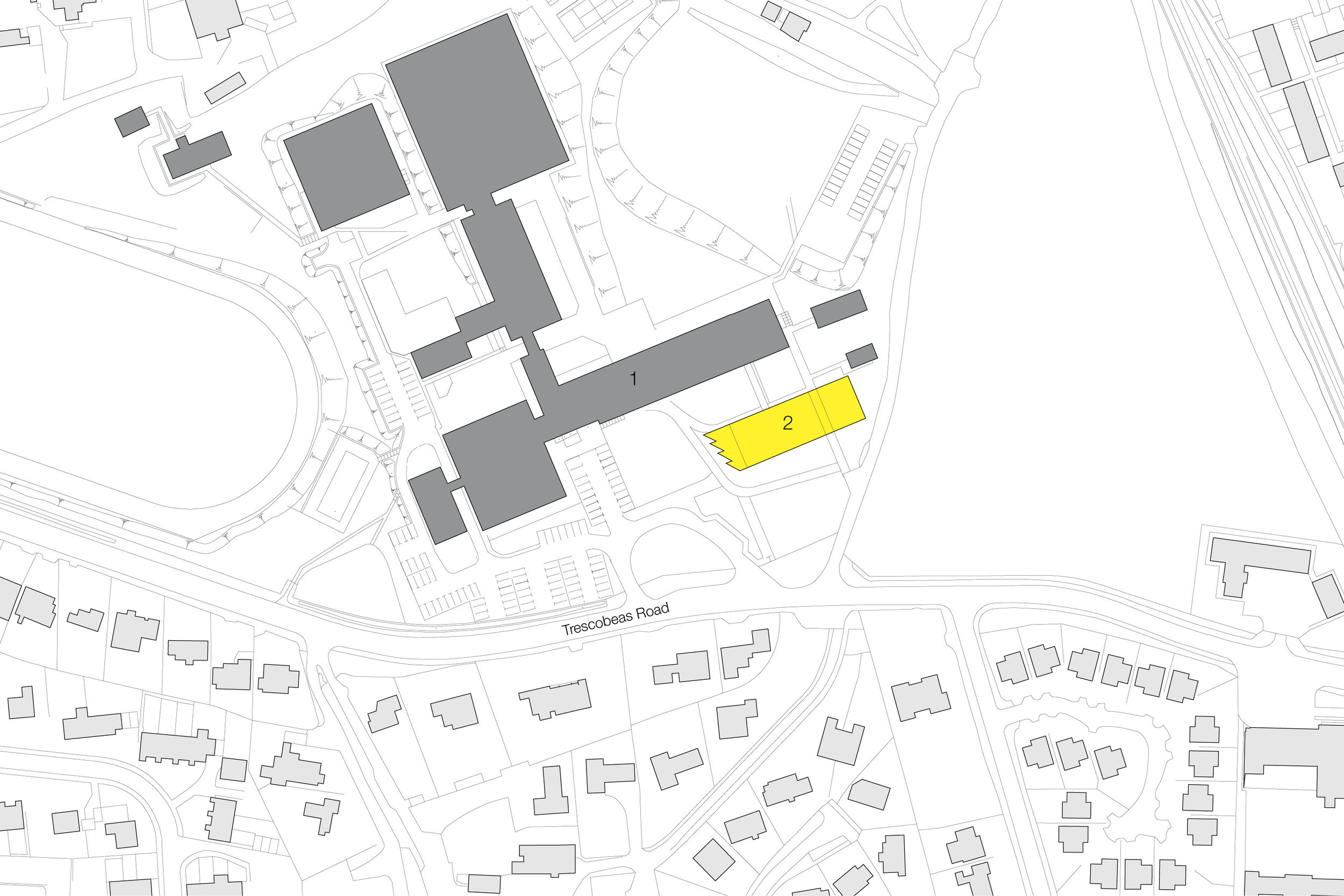 Masterplan of Falmouth School by Mowat & Company