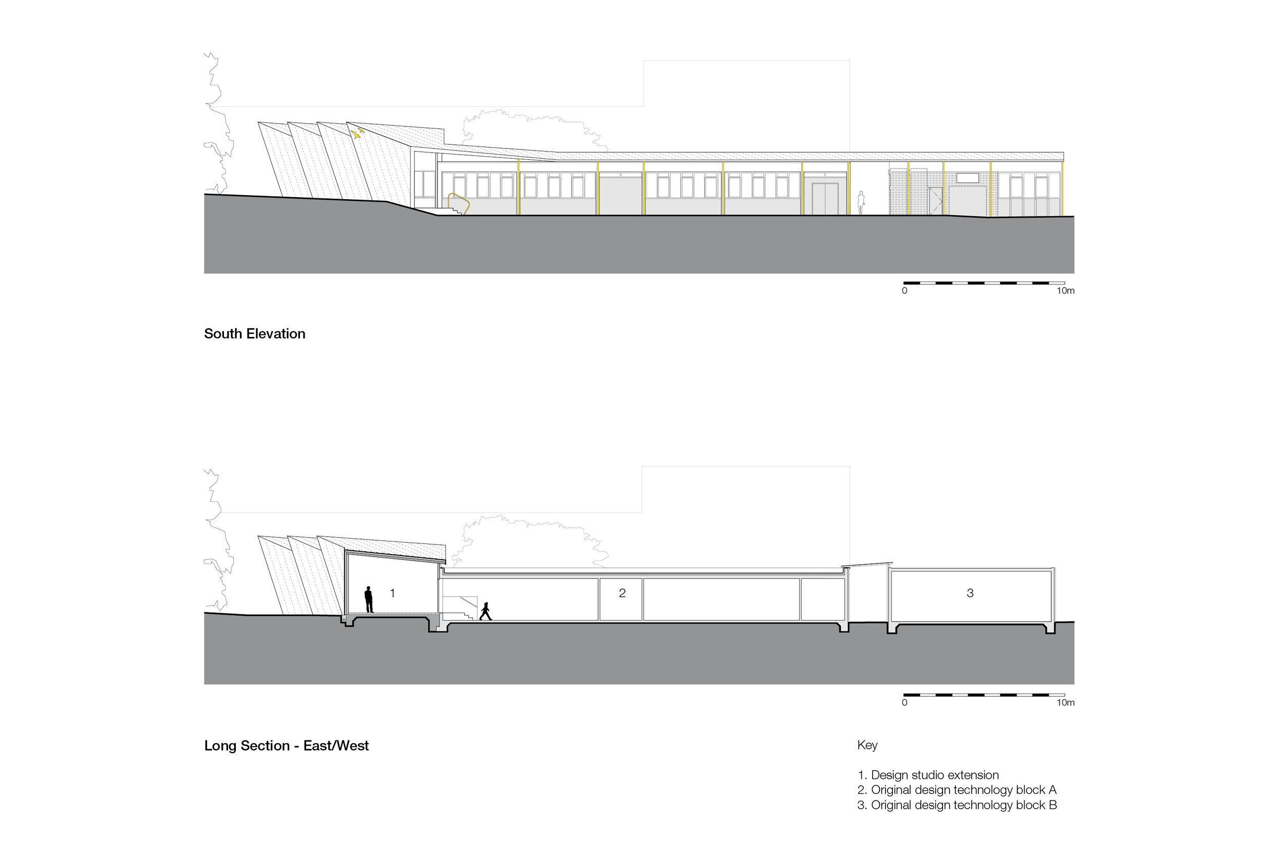 Architects Mowat and Company Design New Extension to Falmouth School