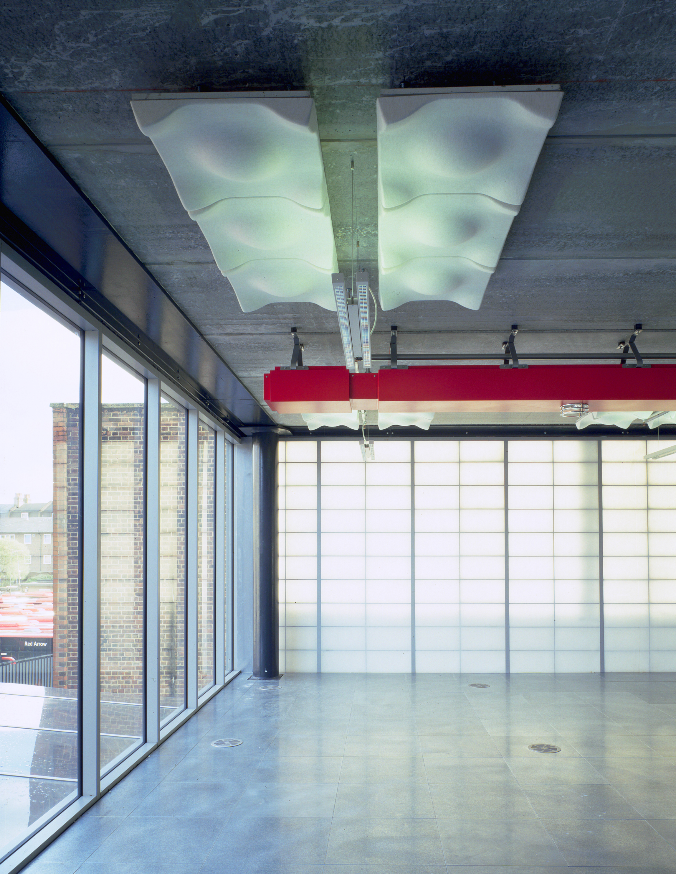 Photograph of Interior Temporary Offices for 3i Group in London