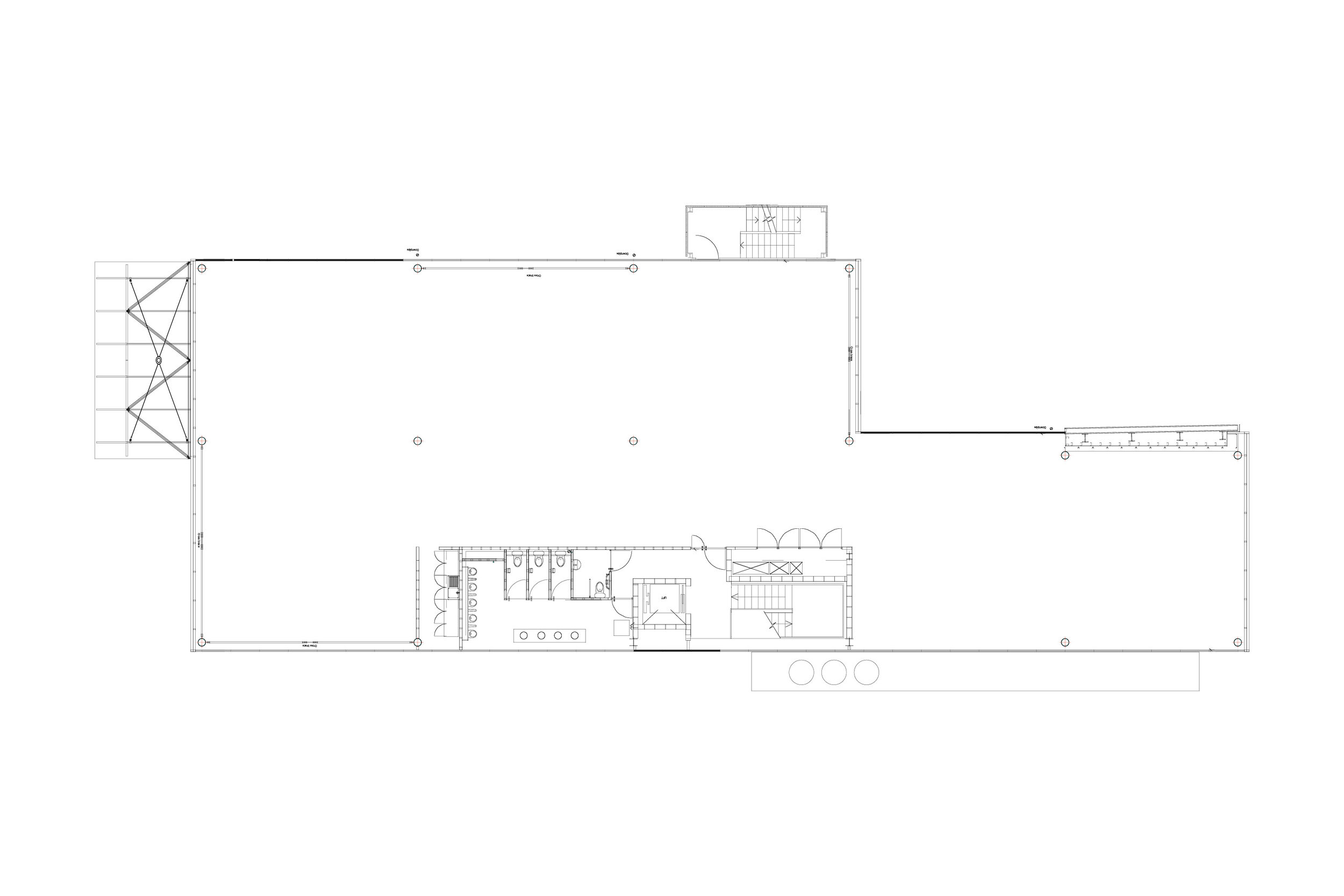 Floor Plan for Demountable Offices by Mowat and Company