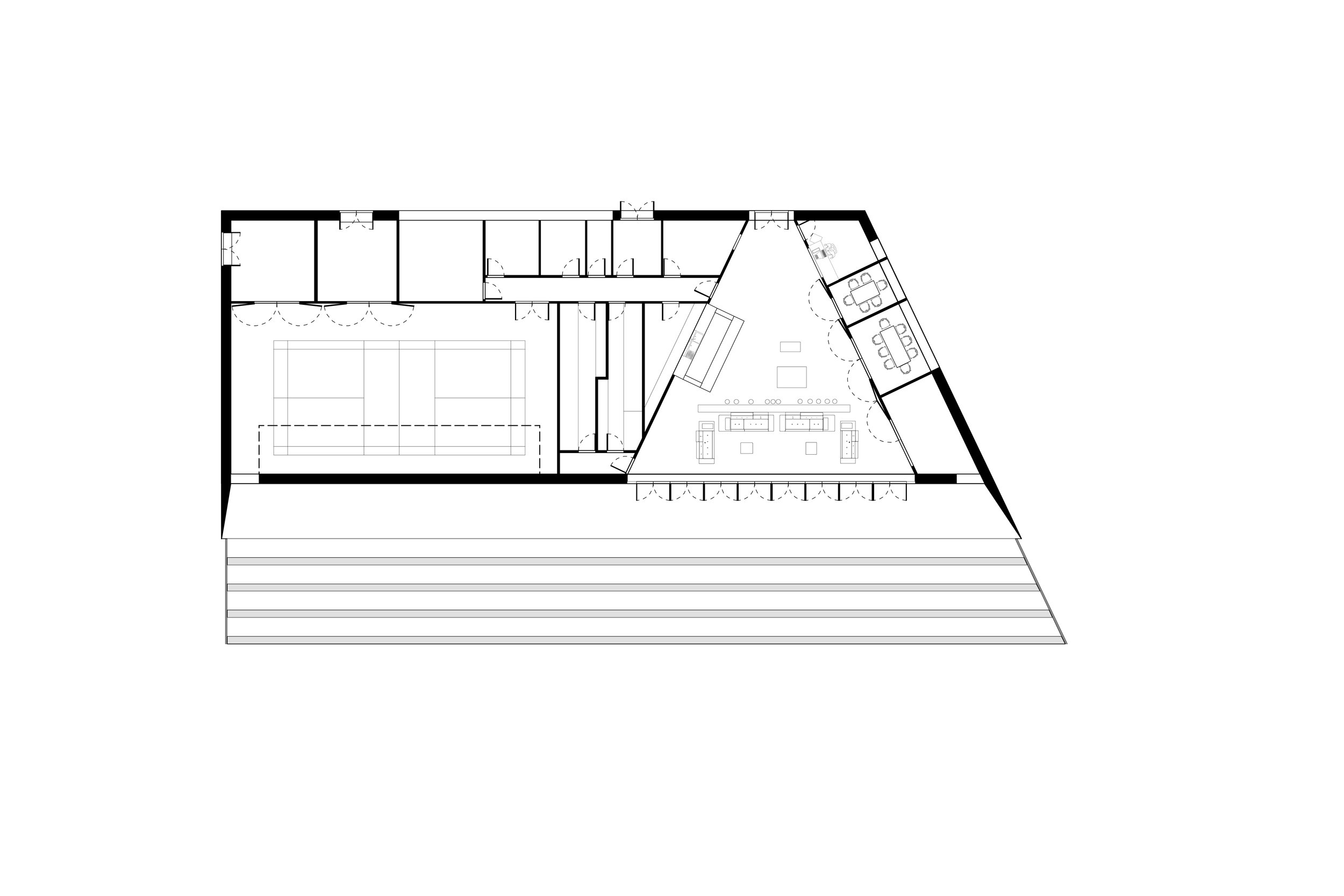 Floor Plan of Youth Centre in Macclesfield