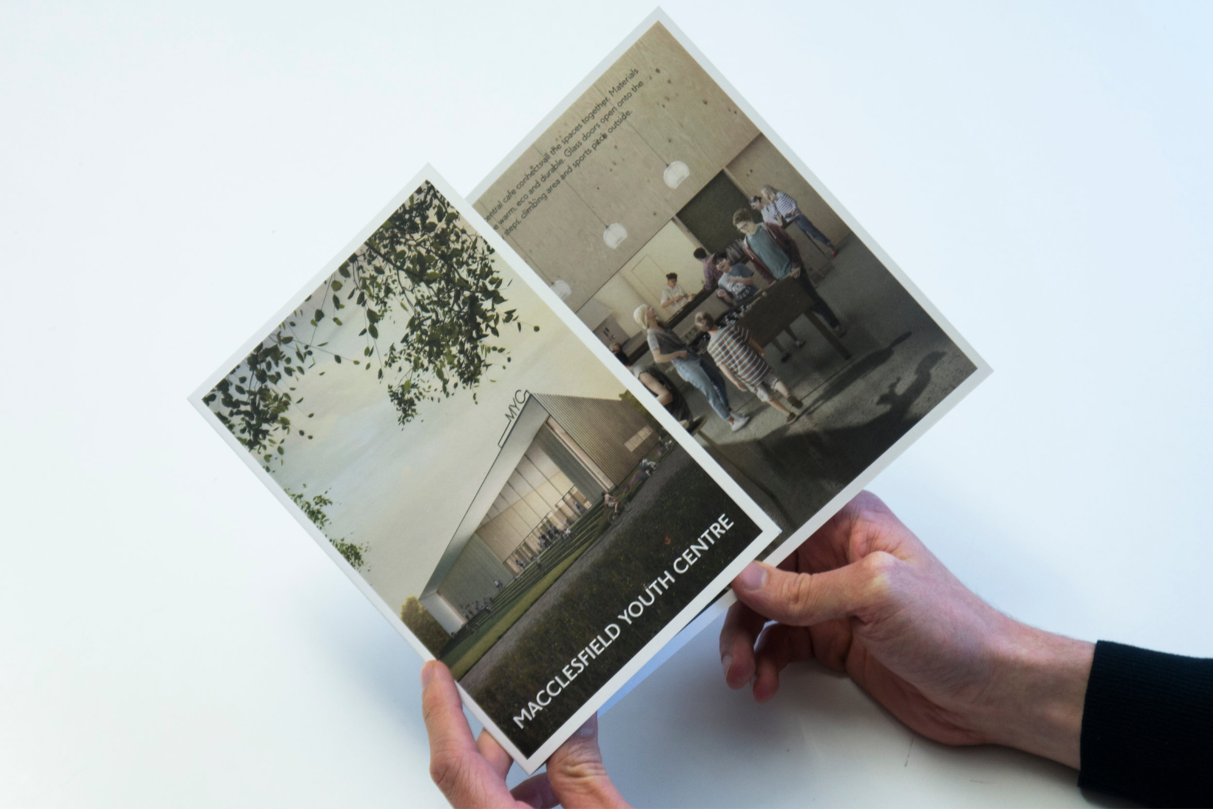 Marketing Booklet for New Youth Centre in Macclesfield
