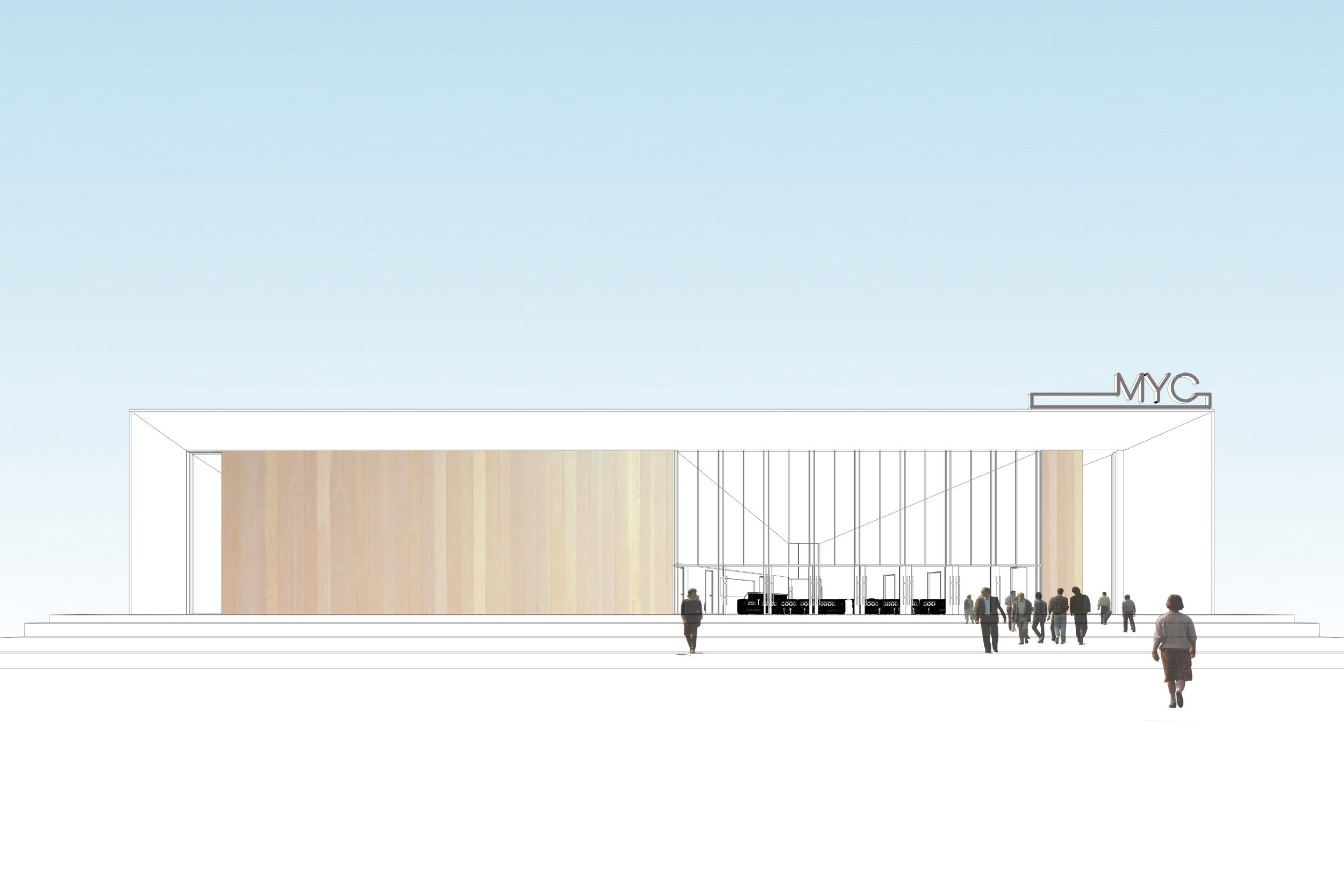 Concept for New Youth Centre in Macclesfield