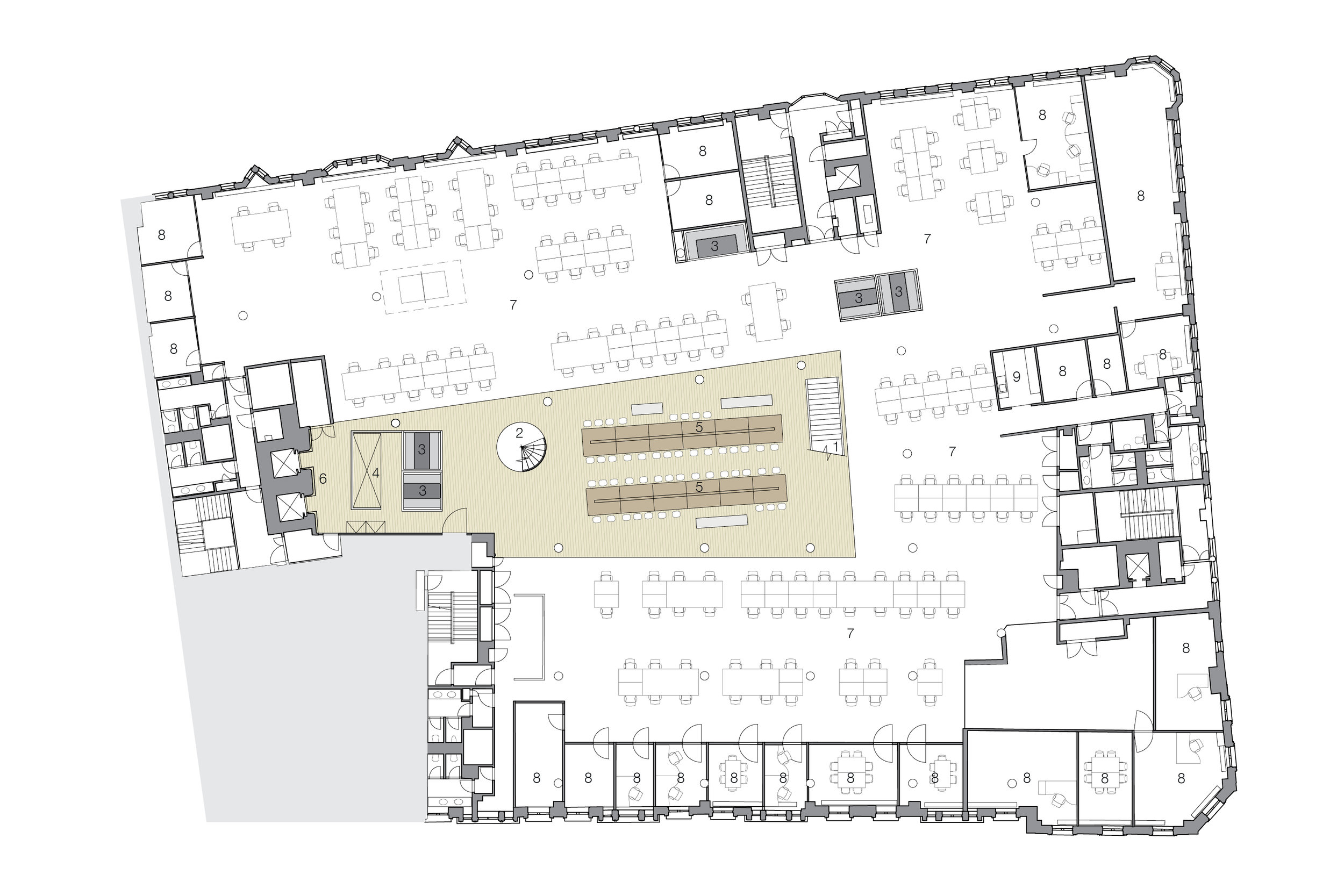BBH Studio Floor Plan Design