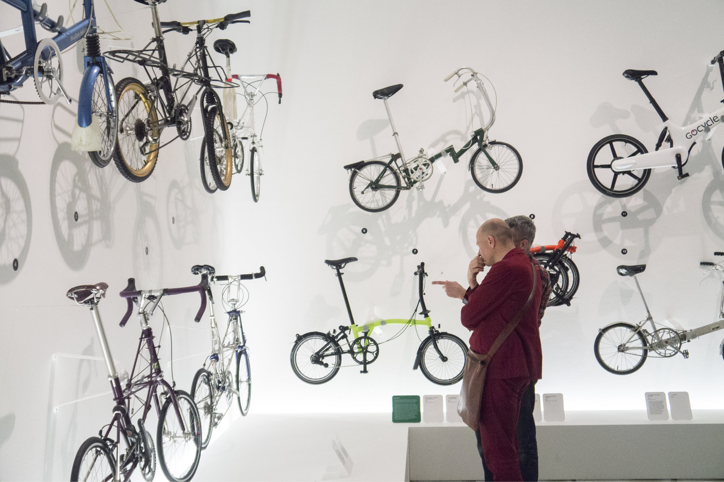"Photograph of Bicycle ""Tribes"" at the Design Museum's ""Cycle Revolution"" Exhibition"