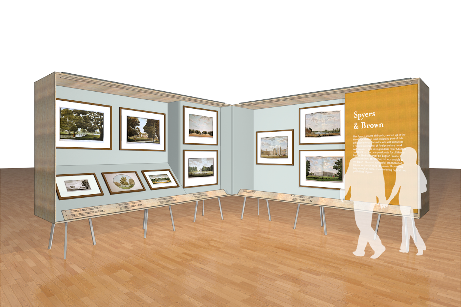 Capability Brown Exhibition by Mowat and Company