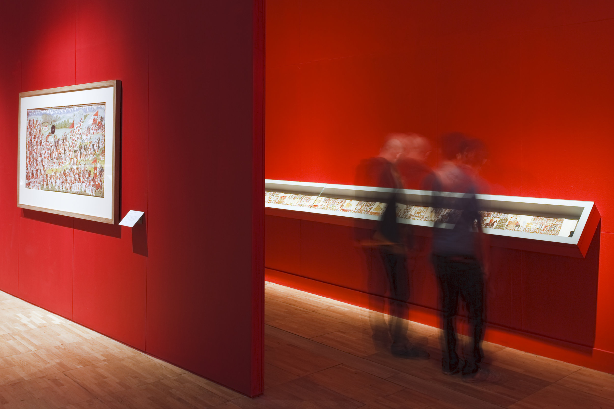 Exhibition Design for Indias Maharaja's at the Victoria and Albert Museum