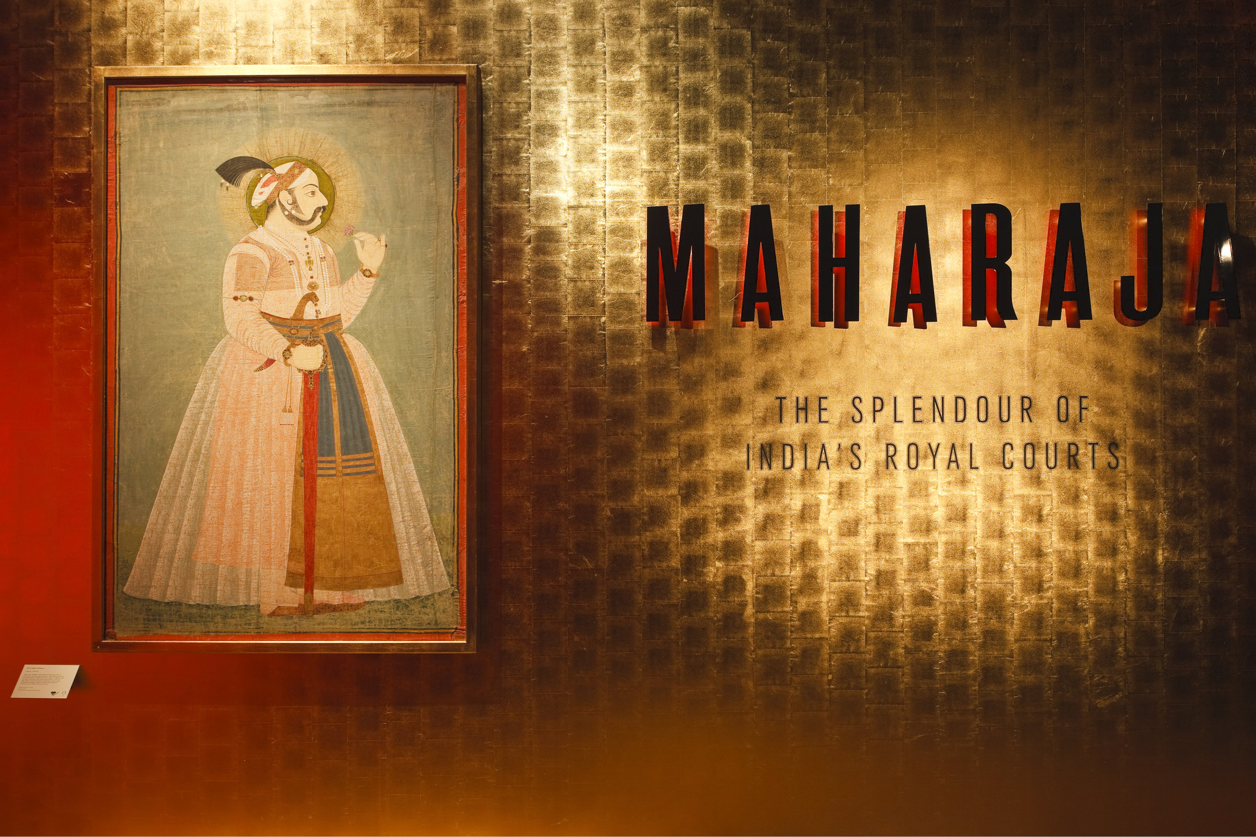 The Splendour of Indias Maharaja's and their Royal Courts Exhibition at the V&A Museum
