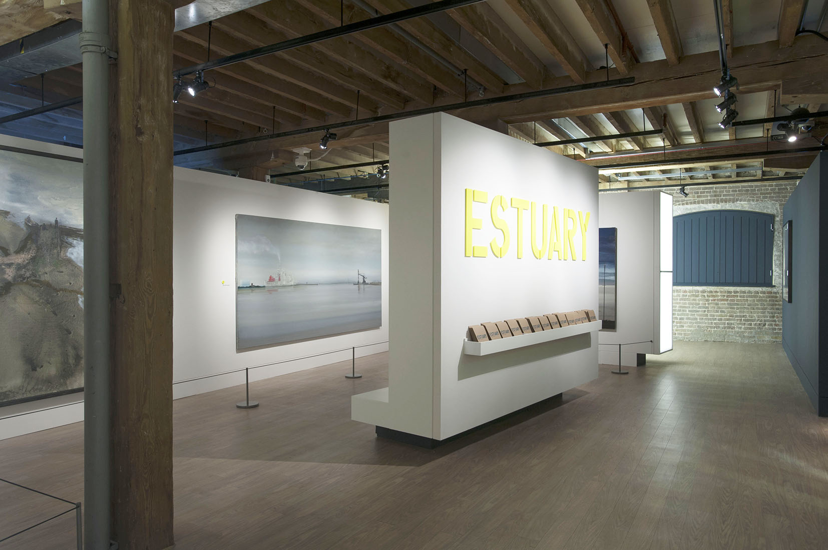 Exhibition Design for Estuary at the Museum of London