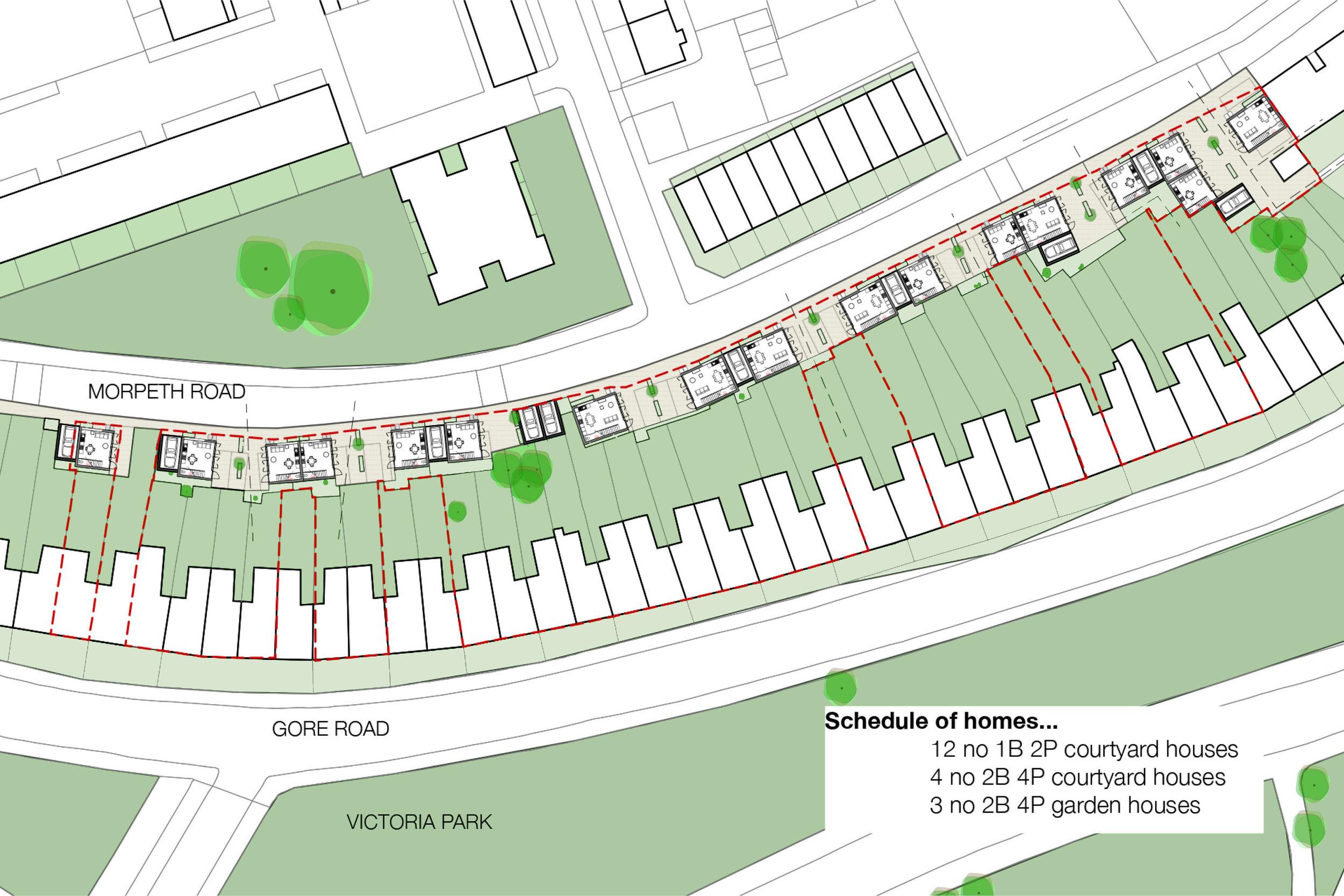 Masterplan for Social Housing Development in Hackney