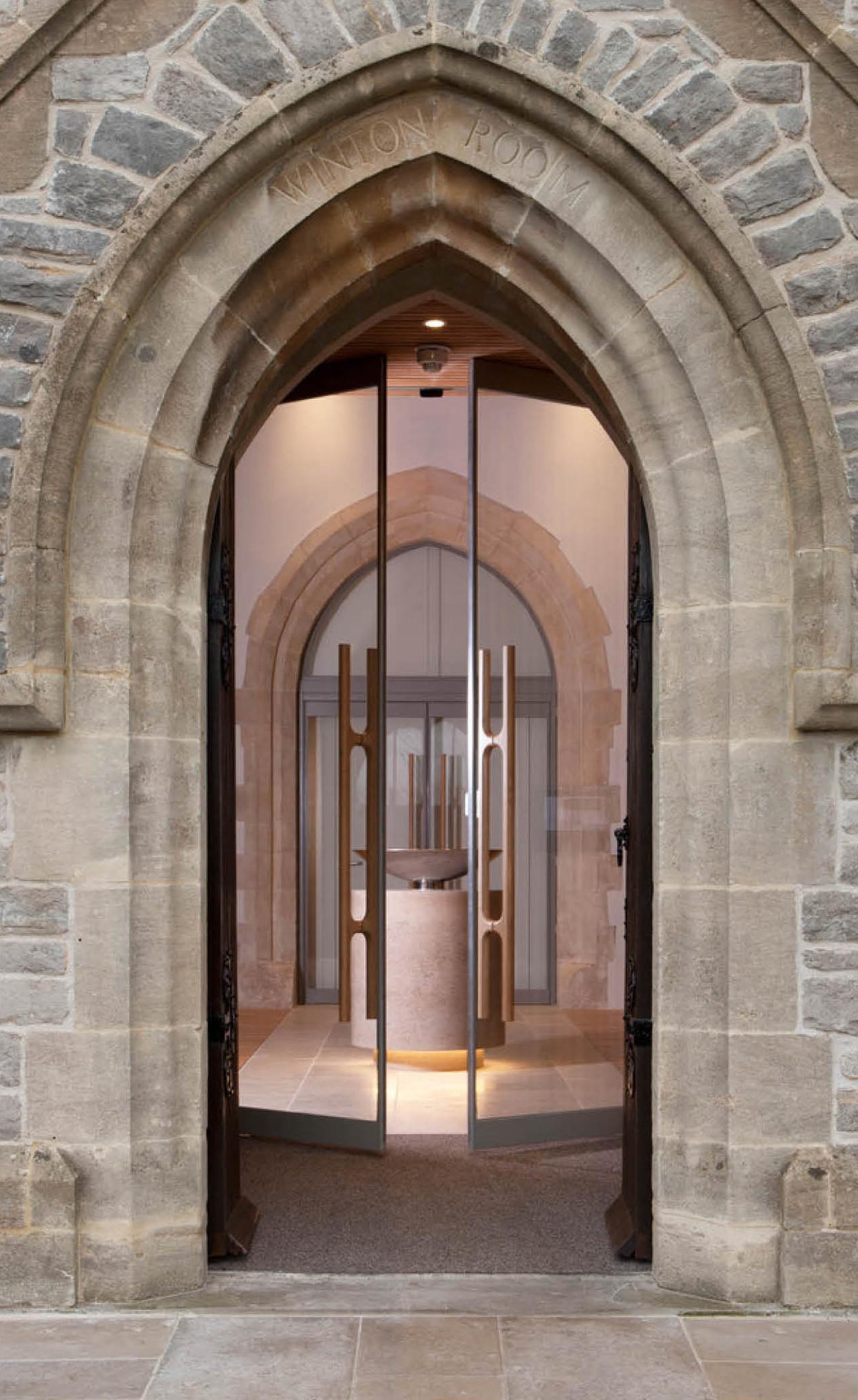 Winton Chapel Holt Door Handles