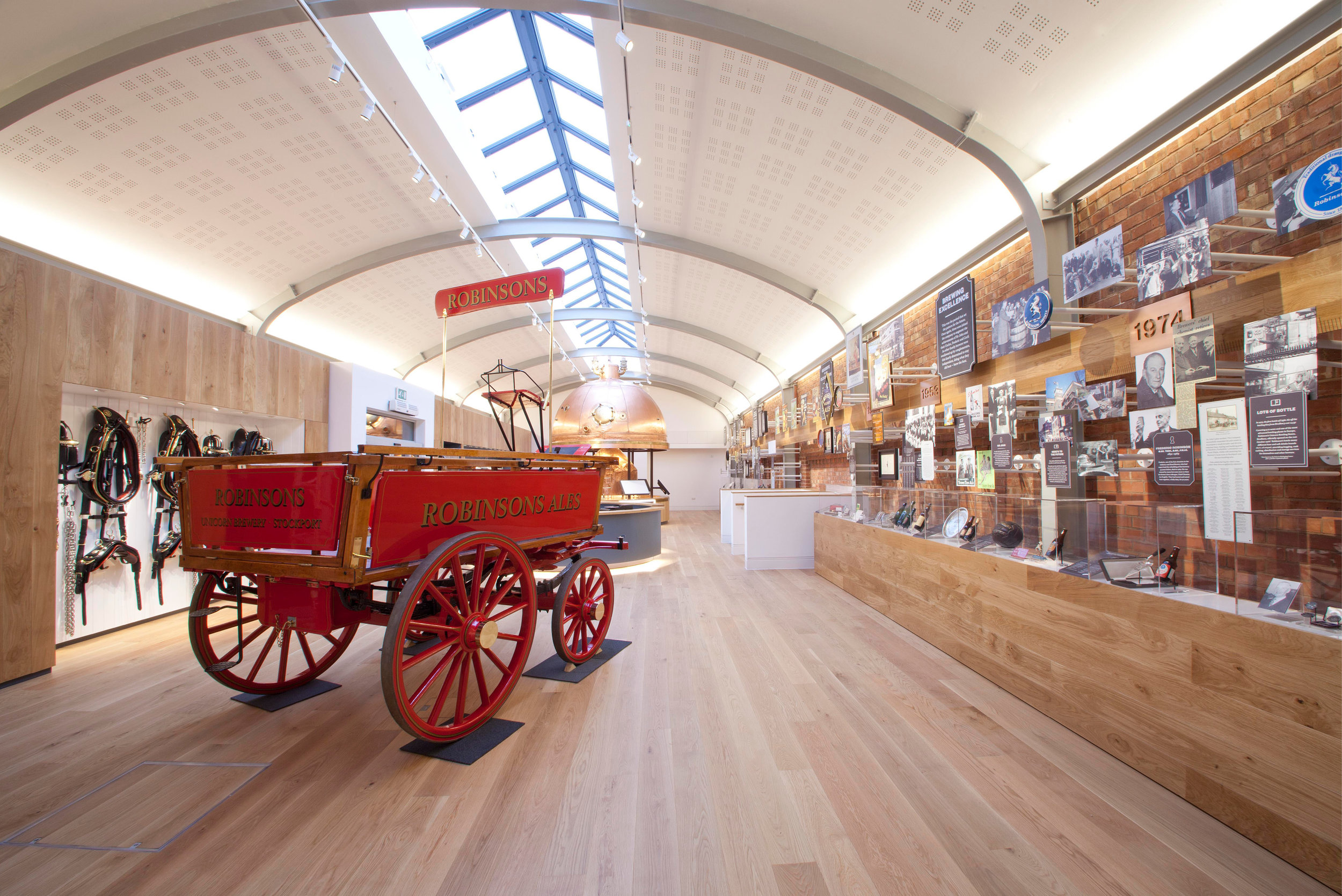 Mowat and Company Interior Fit Out for Robinsons Brewery