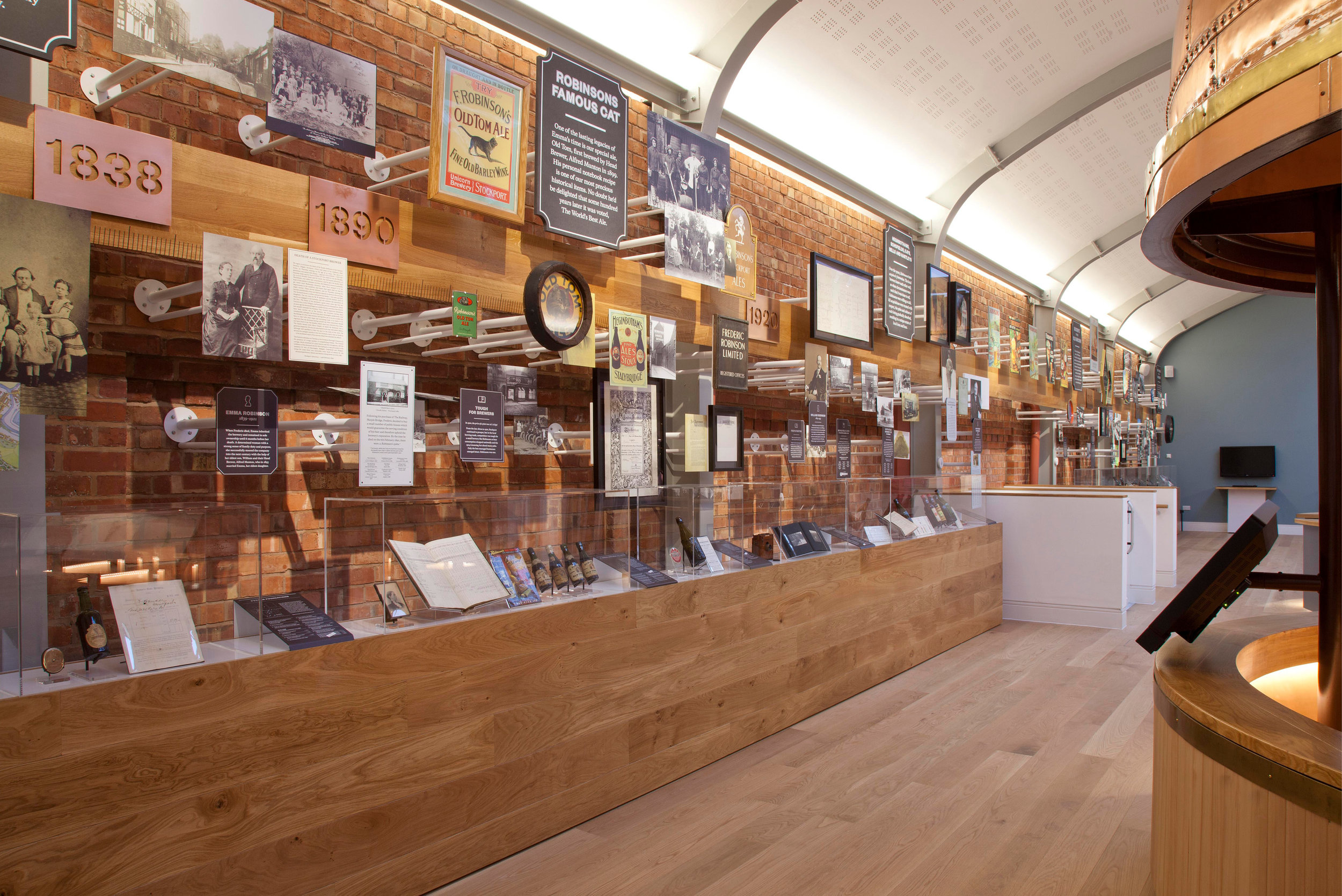 Mowat and Company Design Exhibition for Visitor Centre