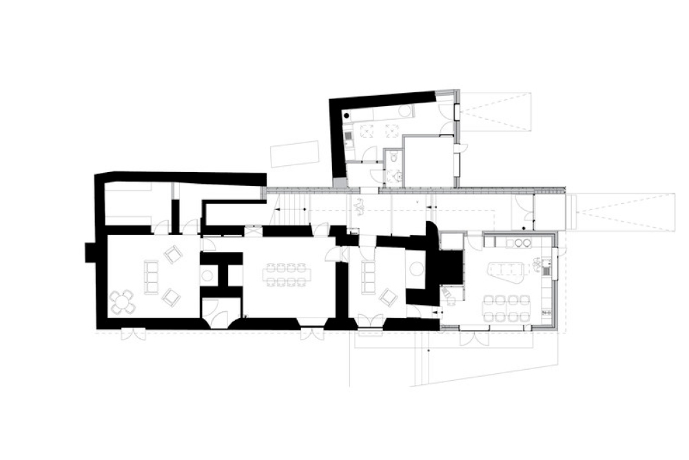 Floor Plan of Sustainable Family Home in Somerset