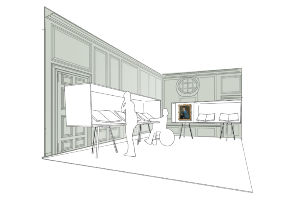 Concept Design for Capability Brown Exhibition