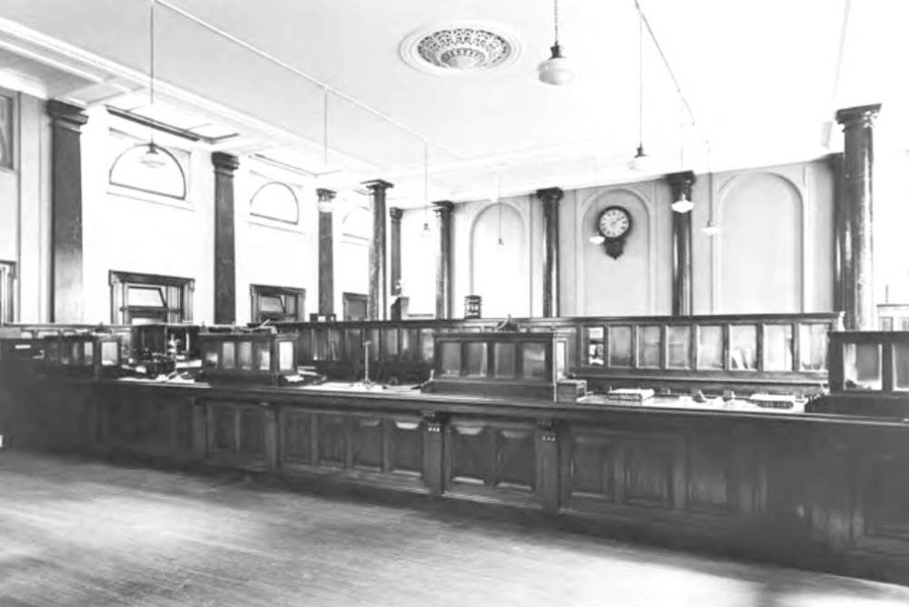 Historic Photo of Child and Co Interior