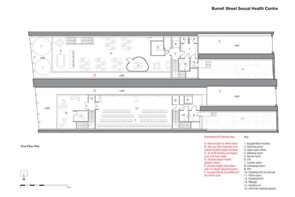Floor Plan Design for Burrell Street Clinic