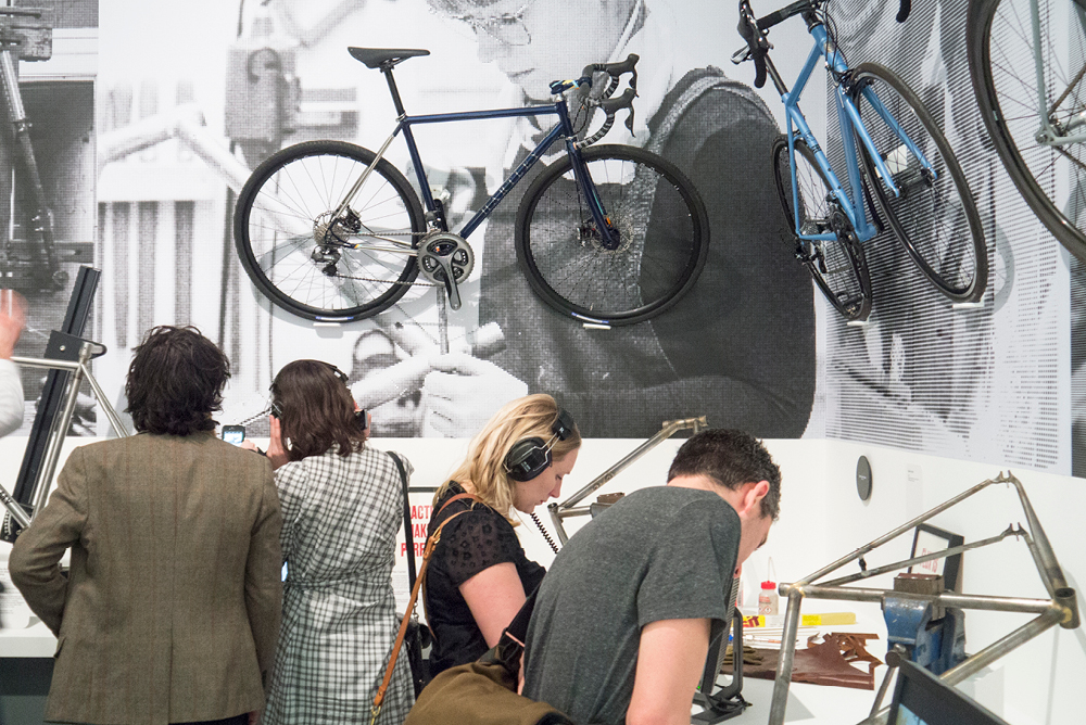 Cycle Revolution Exhibition Design by Mowat and Company