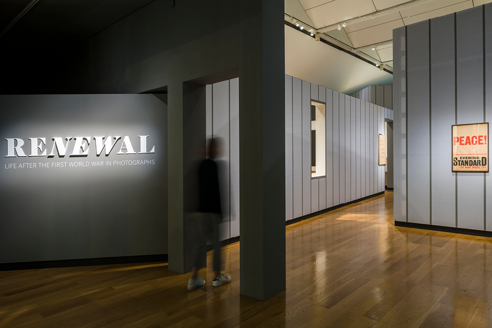 Photograph of Renewal Exhibition Entrance at IWM