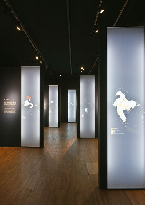 Mowat and Co Design Maharaja's Exhibition at the V&A